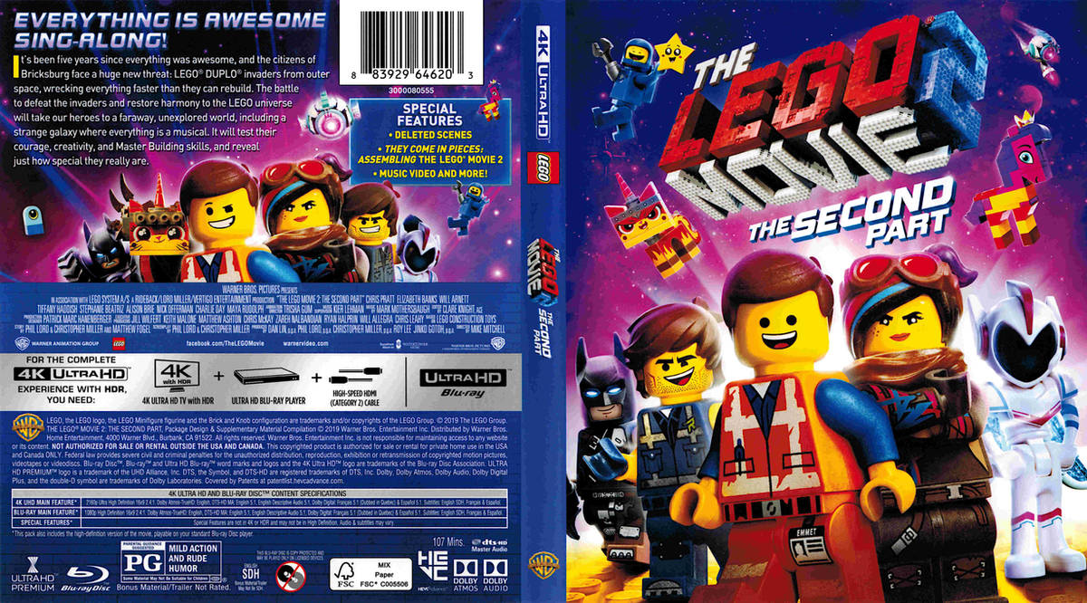 The Lego Movie 2 The Second Part 4K (2019) R1-[fr by psycosid09 on