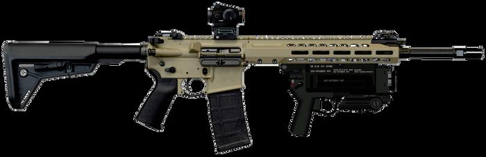 Barrett REC7 M3 Aimpoint M320 by psycosid09