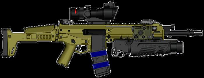 Remington ACR Delta Force by psycosid09