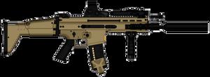 SCAR-L EoTech SOPMOD