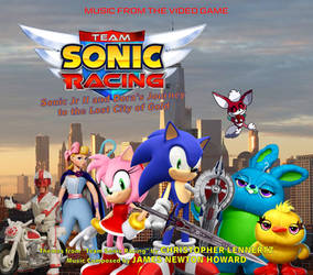 TSR Sonic Jr and Dora's Journey OST Cover