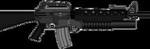 M16A1 M203 MACV SOG