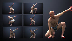 Male Pose Reference 360 by inspiring-references