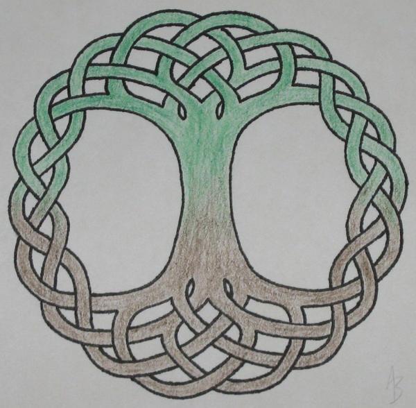 Celtic Tree Life Tattoo