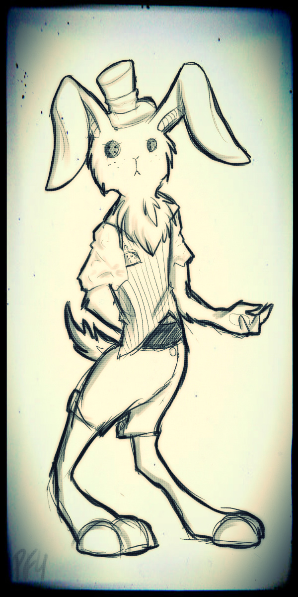Funny bunny by PortalFan4prile