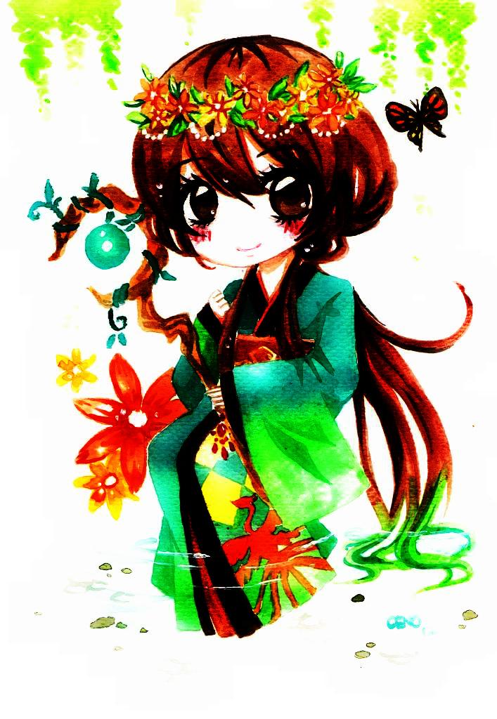 The Earth Goddess by Kuroeno