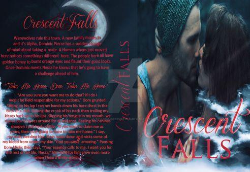 CrescentFallsBookCover by TrulyMadIrresistible