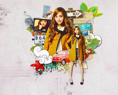 170813 Jessica Desktop Wallpaper - For RybieAngel