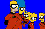 the simpsons x incredibles