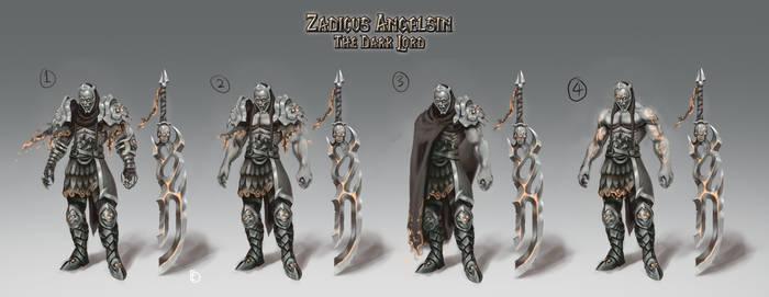 Zadicus Angelsin - Concept Art