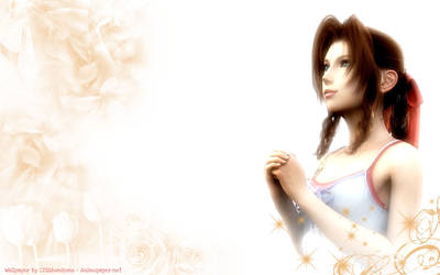 FFvII - Aerith by CFisAwesome