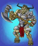 Minotaur Paladin