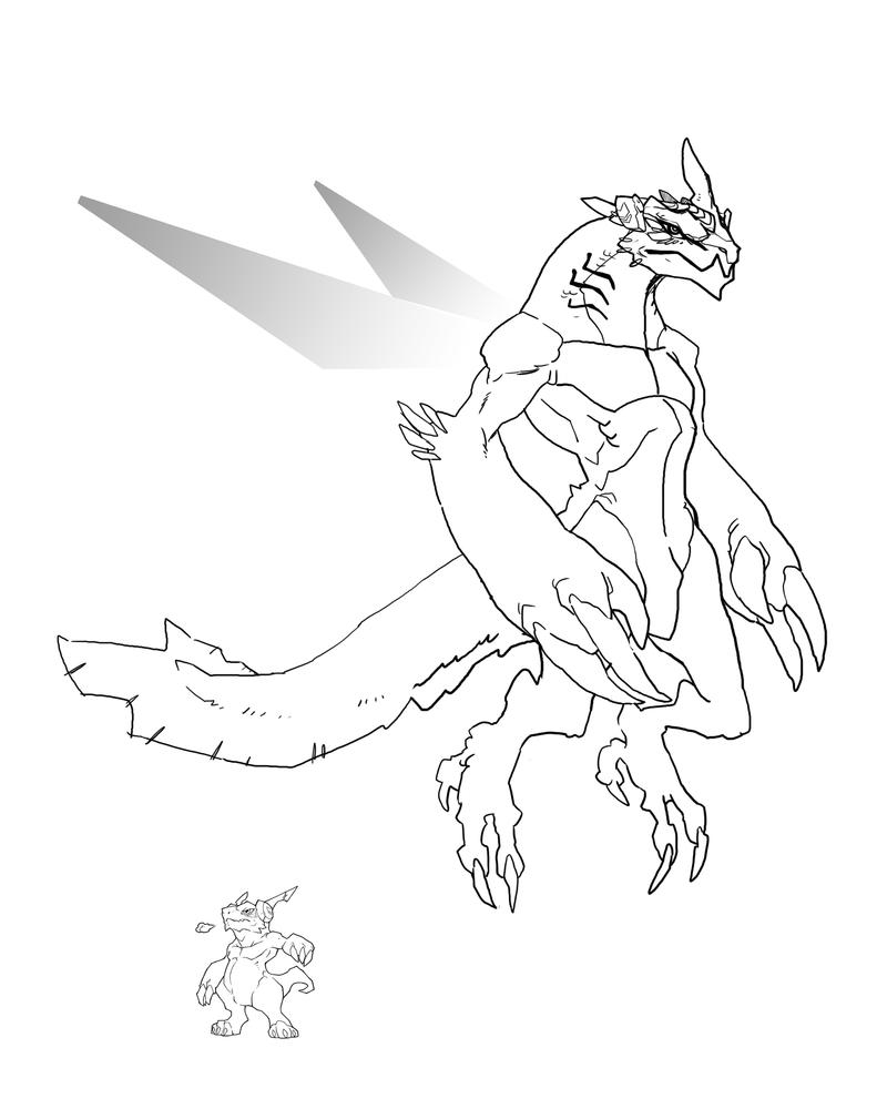 digimon data squad coloring pages - photo#4