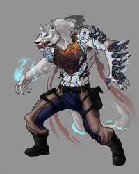 Modern Wolf God