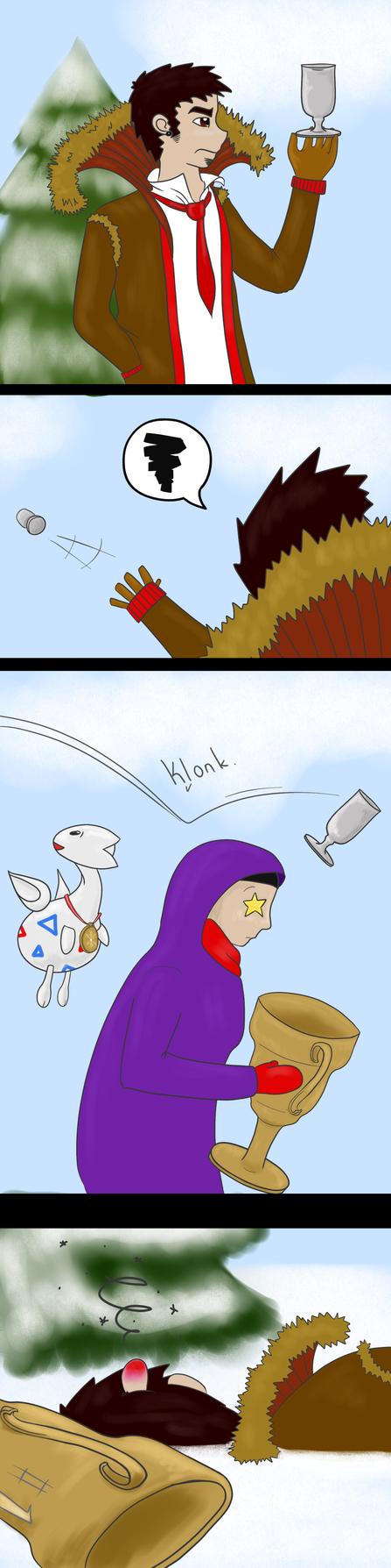 Snowball Wars: Aftermath. by sandraman