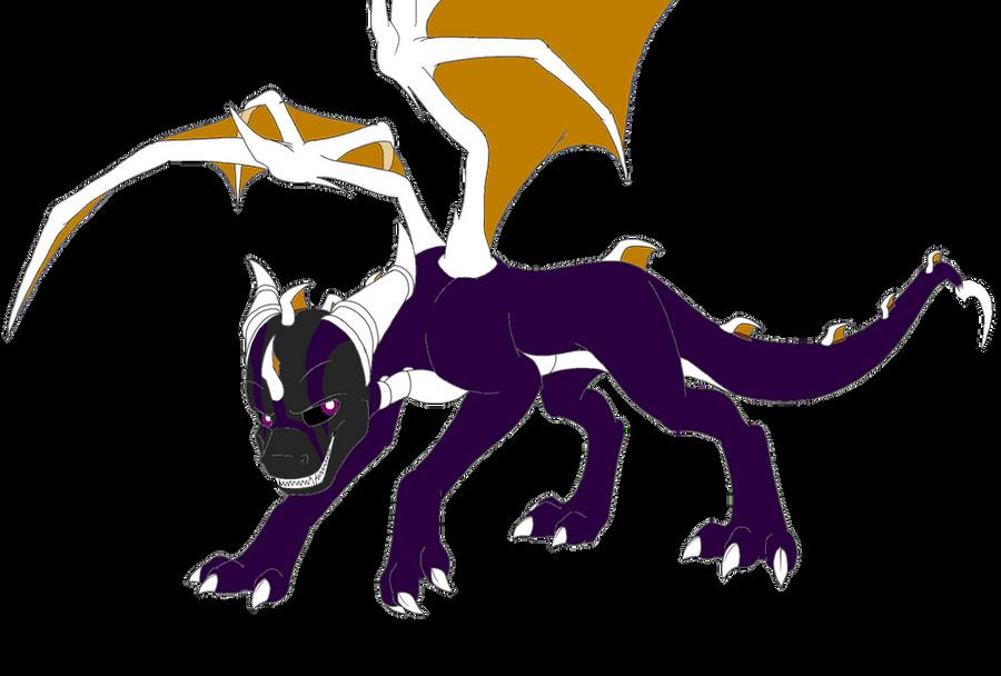Spyro, Vizard form by DarkAngelAW1986