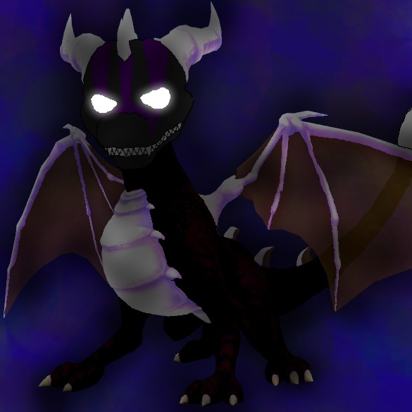 Dark Spyro, Vizard form by DarkAngelAW1986