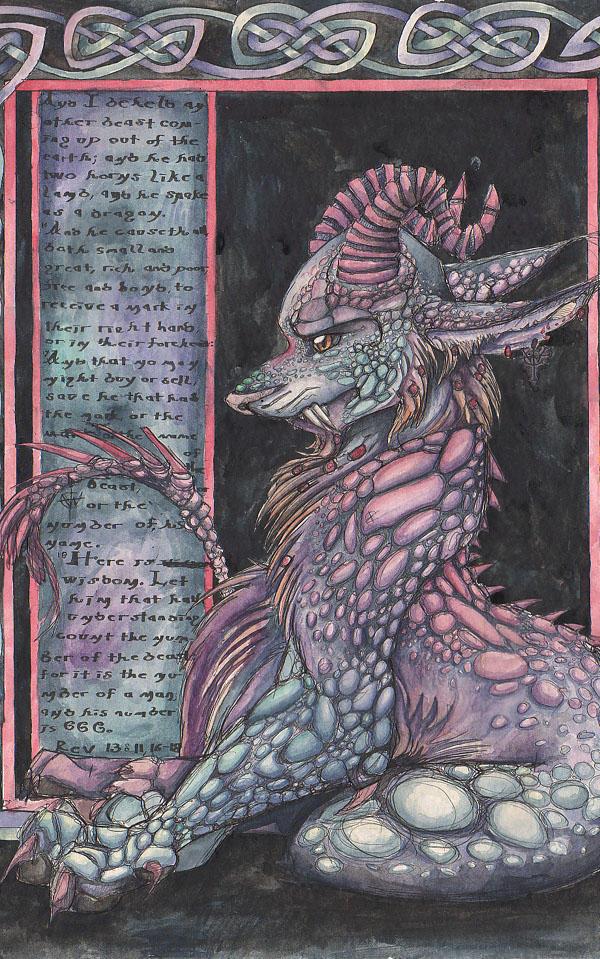 The Second Beast: Rev 13 by RozlynnWaltz on DeviantArt