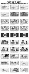 Son of a Gun - Storyboards - Part 1 by RozlynnWaltz