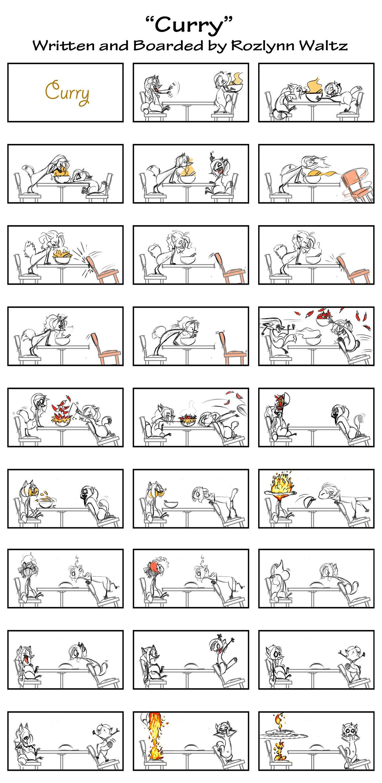 Curry - Storyboards by RozlynnWaltz
