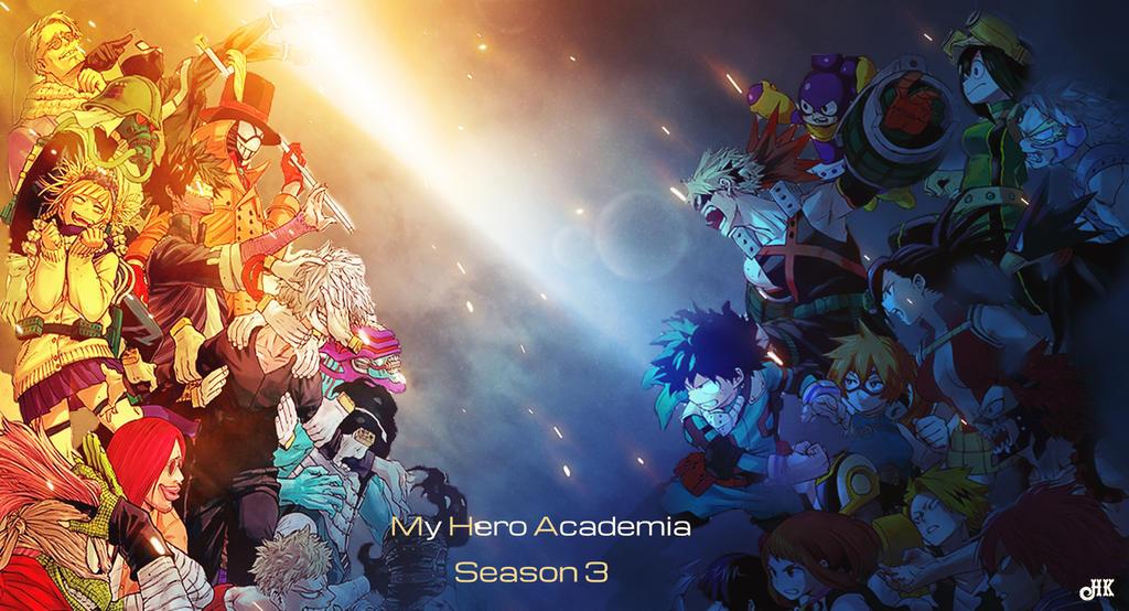 My Hero Academia Season 3 by harunist on DeviantArt