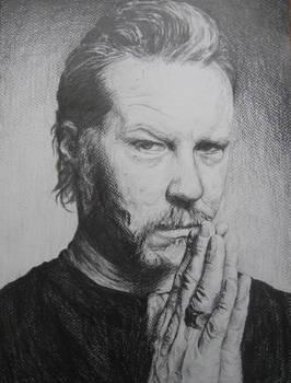 James Hetfield Portrait