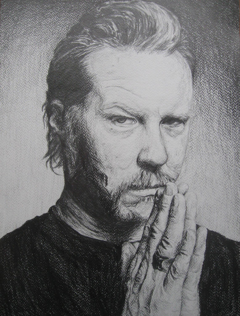 James Hetfield Portrait by Szetyi