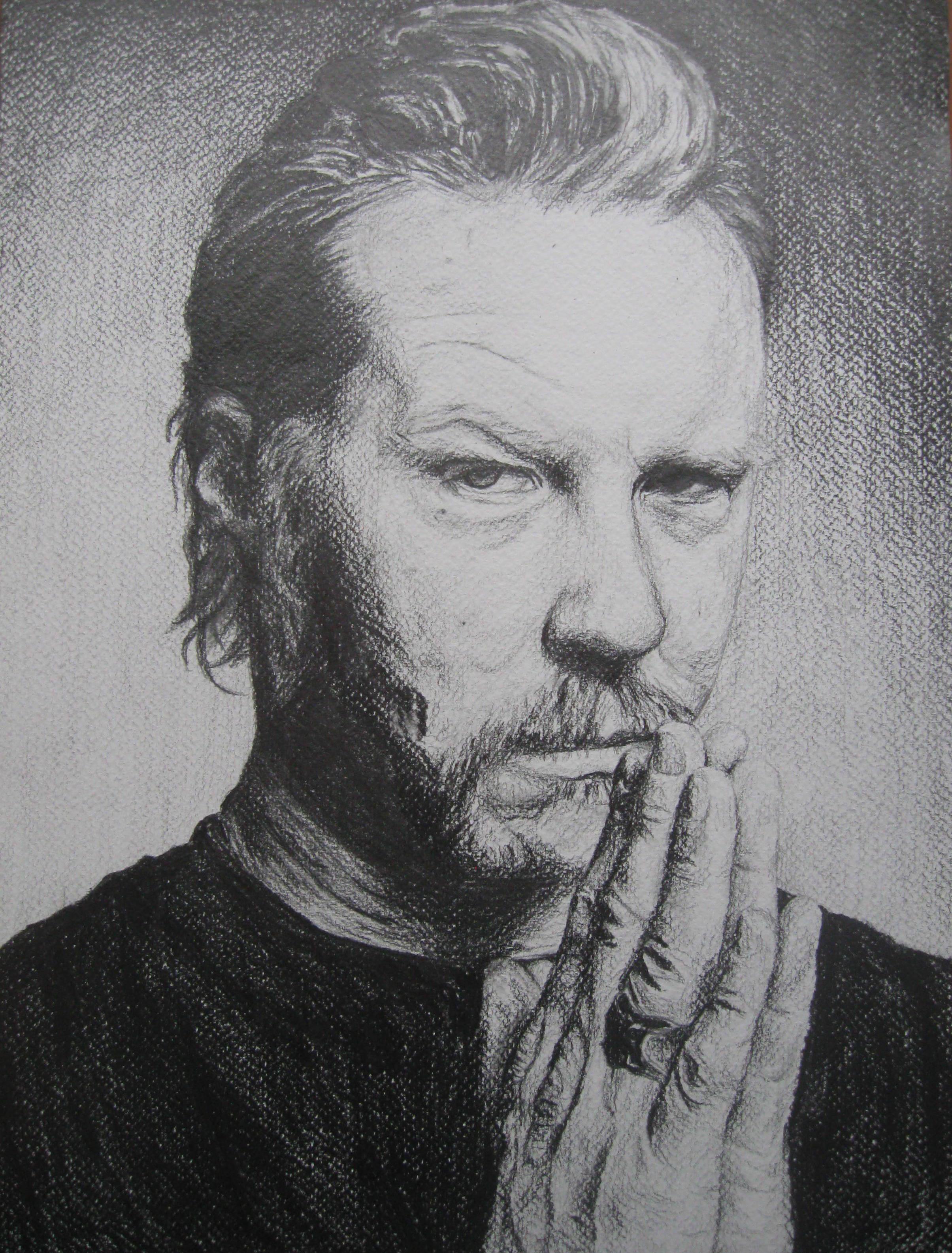 James Hetfield Portrait by Szetyi