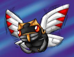poinko's ninjask by zaiqukaj