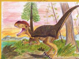 Dilophosaurus by Rood-producoes
