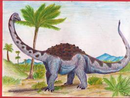 Saltasaurus australis by Rood-producoes