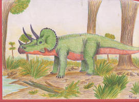Triceratops by Rood-producoes