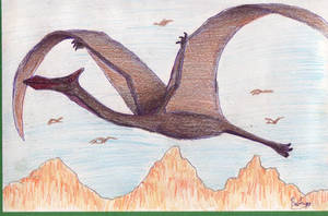 Quetzalcoatlus by Rood-producoes