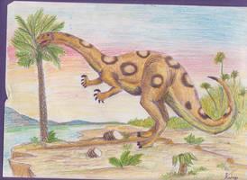 Plateosaurus by Rood-producoes