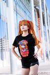 Asuka cosplay and T-shirt