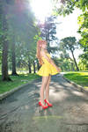 Yellow dress Asuka