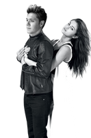 Niall Horan Selena Gomez PNG Photomanipulation by mymySA