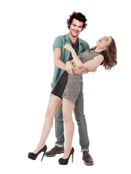 Harry Styles Lily Collins Png Photomanipulation by mymySA