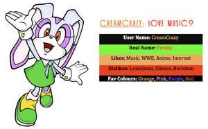 CreamCrazy ID by CreamCrazy