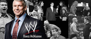 WRESTLING BANNERS: 1. Vince McMahon