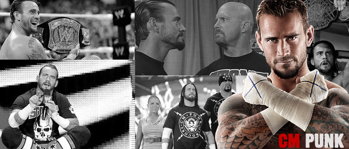 WRESTLING BANNERS: 2. CM Punk by CreamCrazy