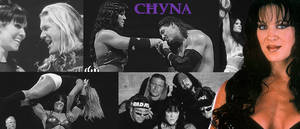 WRESTLING BANNERS: 8. Chyna by CreamCrazy