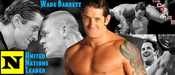 WRESTLING BANNERS: 11. Wade Barrett by CreamCrazy