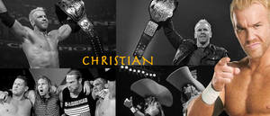 WRESTLING BANNERS: 12. Christian by CreamCrazy