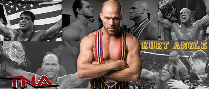 WRESTLING BANNERS: 14. Kurt Angle by CreamCrazy