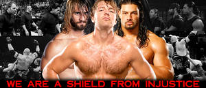 WRESTLING BANNERS: 15. The Shield