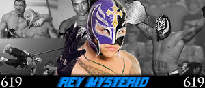WRESTLING BANNERS: 17. Rey Mysterio