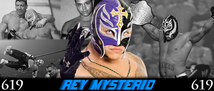 WRESTLING BANNERS: 17. Rey Mysterio by CreamCrazy