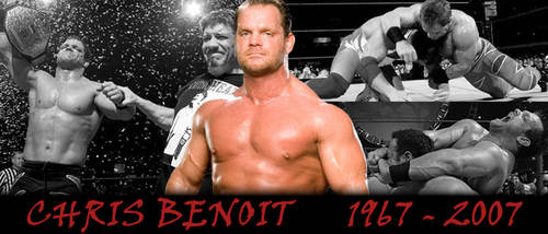 WRESTLING BANNERS: 20. Chris Benoit by CreamCrazy