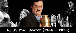 WRESTLING BANNERS: 25. Paul Bearer (R.I.P.)